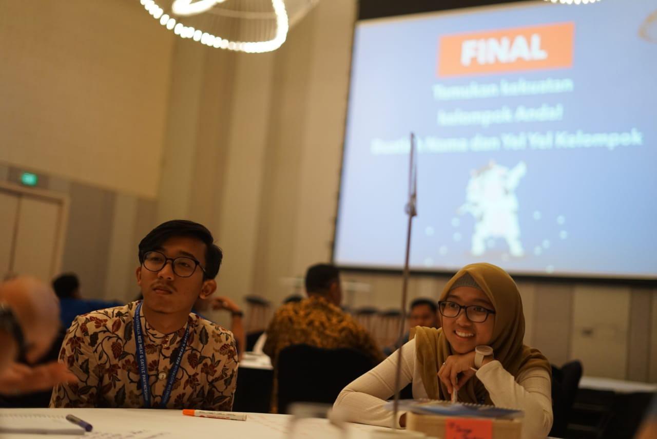 Saatnya memeras ide dari visi dan pengetahuan dari masing-masing kelompok untuk menjawab permasalahan peternakan di Indonesia dalam bentuk inovasi teknologi.
