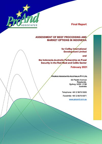 Assessment of Beef Processing and Market Options in Indonesia