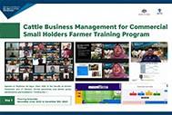 Cattle Business Management for Commercial Small Holders Farmer Training Program