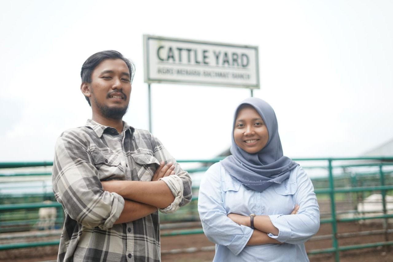 The participants of the Partnership's Internship Program at PT Astra Agro Lestari in Lampung